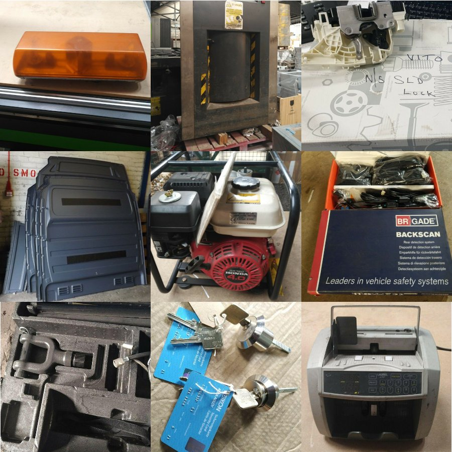 sales, industrial equipment, office equipment, vehicle parts